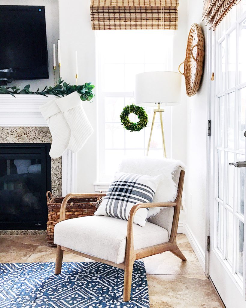 Easy Blue And White Christmas Decorating Ideas Jane At Home