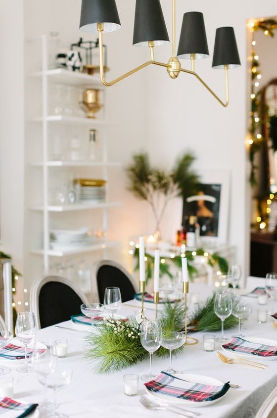 20 Christmas Table Setting Ideas And Centerpieces Jane At Home