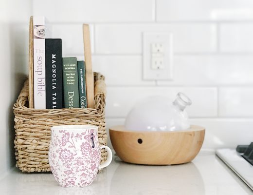 Diffusing essential oils in the kitchen - jane at home