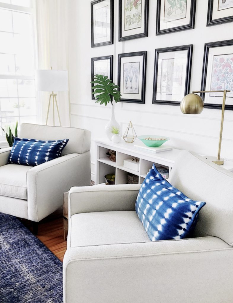 Summer home decor ideas for the living room