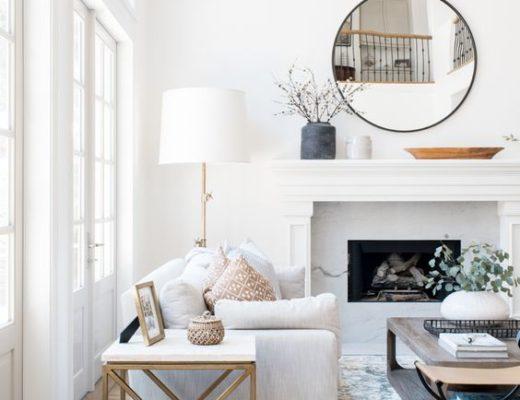 Isn't this lovely? California style living room with a light modern coastal vibe designed by Livingston Interiors #livingroomdecor #livingroomideas #homedecor #livingroomfurniture #coastaldecor