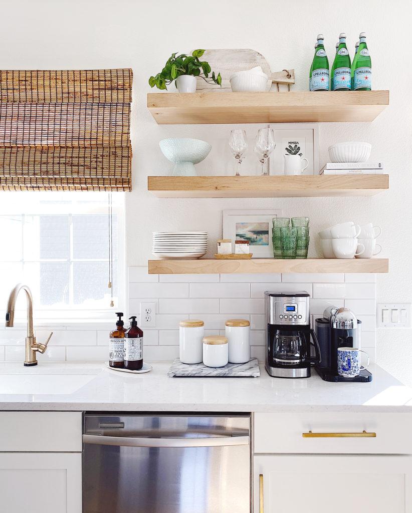 Modern coastal kitchen decor