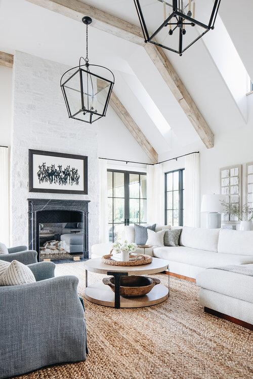 2021 Decor and Design Trends I Love: Warm, Relaxed and Comfortable Seating in the Living Room - Kate Marker living room ideas | living room furniture | living room design | living room decor