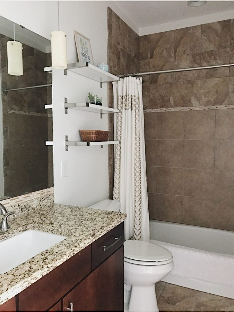 Our Guest Bathroom Remodel Before And After
