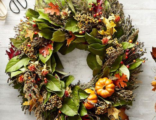 Beautiful fall wreath ideas